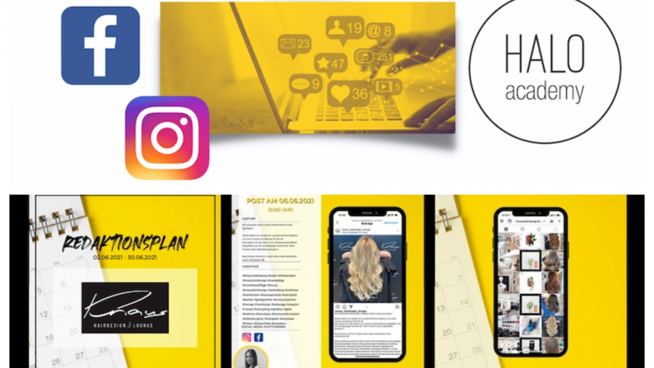Titelbild Halo Academy Social Media Service