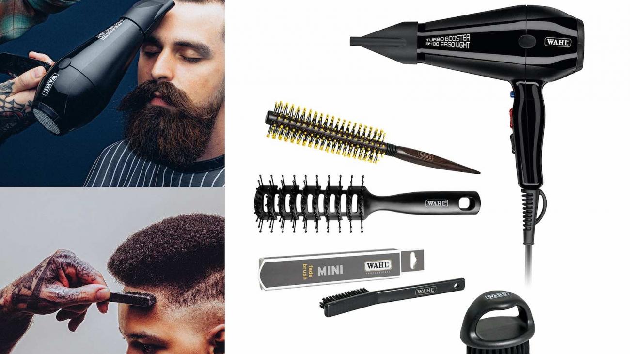 Titelbild Wahl Brushes Barber